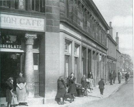 c1921 Station Cafe, Kirkton Cross (PV)