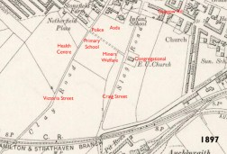 1897 Map of Slag Road