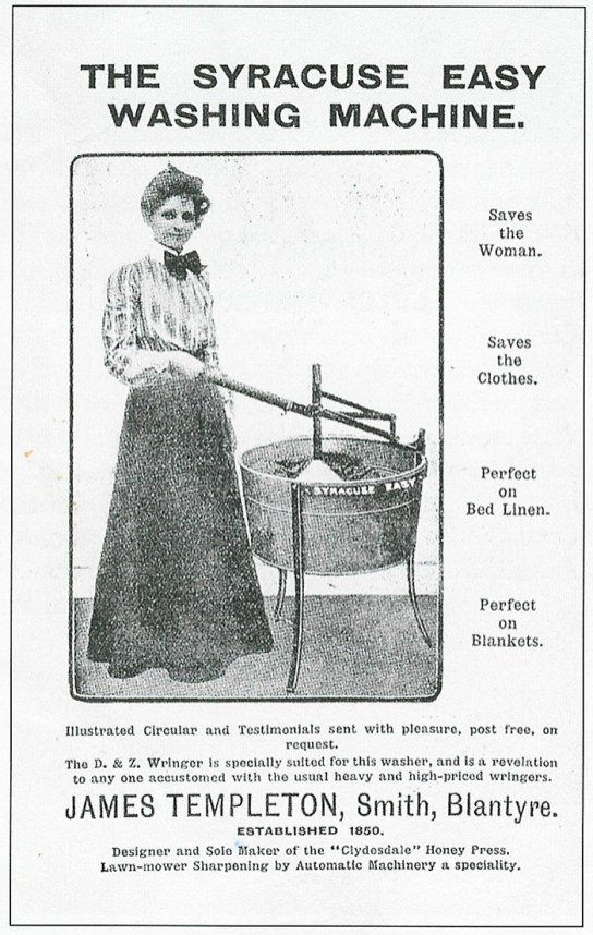 1908 Advert Save the woman
