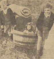 1948 Children flitting from Dechmont to Blantyreferme