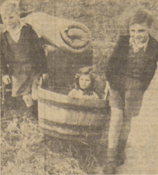 1948 Children flitting from Dechmont to Blantyreferme