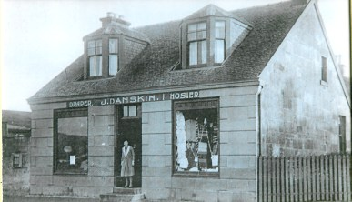 1938 Mary Danskin at Stonefield Rd Shop