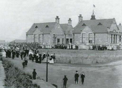 1900 Auchinraith School opening