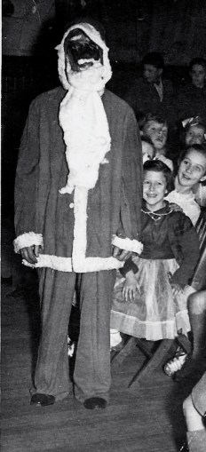 1950s Scary Santa at High Blantyre