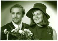 1969 Joe and Janet Veverka marry
