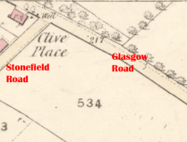 1859 Clive Place Map