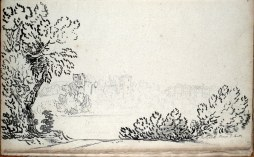 1799 Sketch of Bothwell from Priory