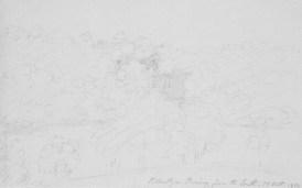 1800 Blantyre Priory sketch