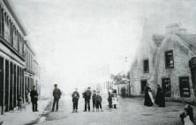 Kirkton, Main Street 1880. Restored by PV
