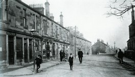 1913 Main Street looking East at Auchinraith (PV)