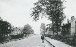 1920 High Blantyre Road looking to Hamilton (PV)