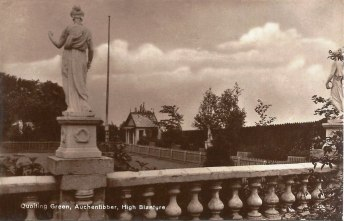 c1923 The Quoiting Green, Auchentibber, Blantyre