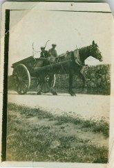 1921 Malcolmwood, Cart & Horse