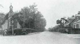 1922 Burnbank Parish Church & High Blantyre Road (PV)