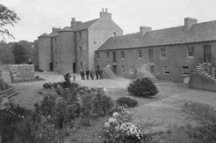 Shuttle Row 1929 Just before the opening of the centre (PV)