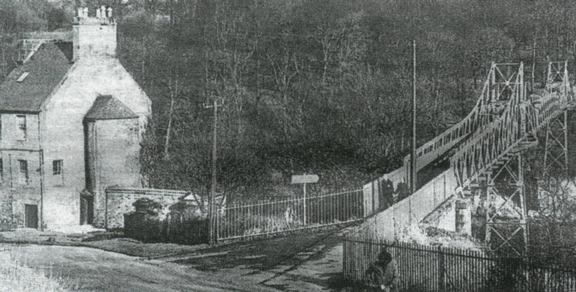David Livingstone Memorial Bridge c 1955