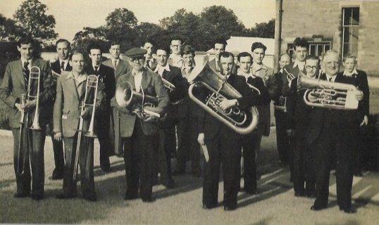 1955 St Josephs Silver band