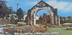 1966 Entrance to Stonefield Public Park