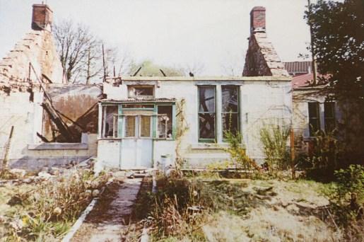 2003 Ruins of Greencroft Cottage, Bardykes rd