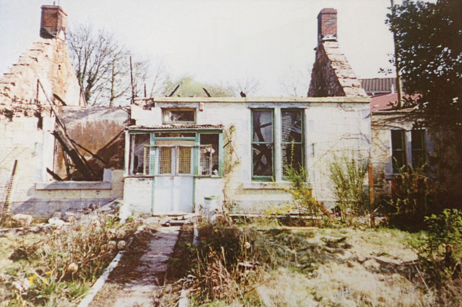 2003 Ruins of Greencroft Cottage, Bardykes rd
