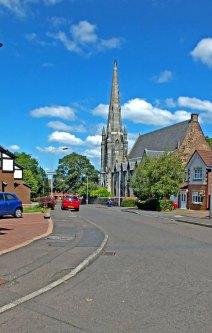 2014 Old Parish Church. July by Robert Stewart