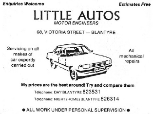 1984 Little Autos