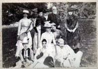 1895 The Cochranes at Calderglen