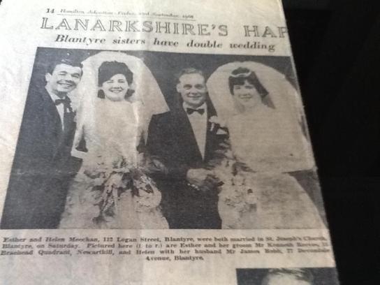 1966 Double Wedding