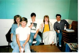 1987 Blantyre High 5th yr leaving day