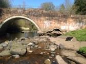 2014 Milheugh Bridge from West, April 2014 (PV)