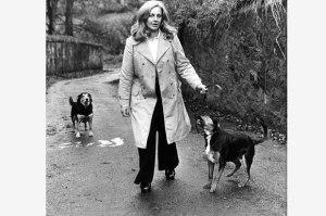 Margo at Pech Brae, courtesy of Herald Online