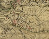 1747 High Blantyre map