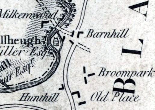 1795 Map Milheugh