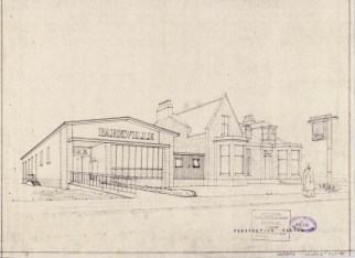 1960 Perspective Drawing Parkville