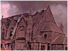 1979 Stonefield Parish Church fire