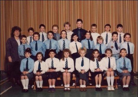 1989 High Blantyre Primary teacher is Mrs Brown