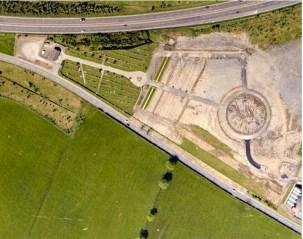1992 Priestfield Cemetery blantyre gets extended