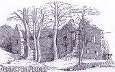 1920 Blantyre Priory Sketch