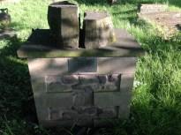 2014 Steeple stones in kirkyard (PV)