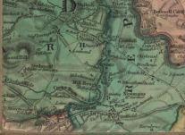 1816 Map Bardykes