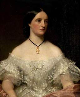 1850s Elizabeth Bannatyne of Milheugh Estate