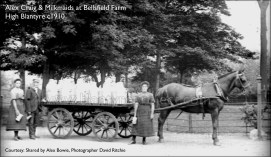 1910 Alex Craig at Bellsfield Farm