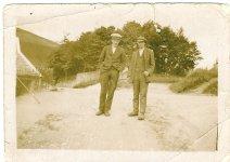 1929 John Duncan and colleague