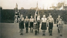 1950 May. 4th Blantyre Scouts at Anderson Church, Blantyre