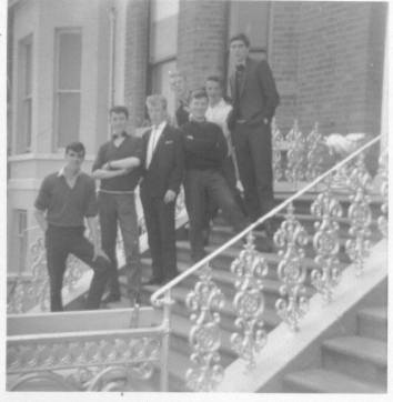 1960s. Blantyre friends on tour at Brae, Ireland. Sent in by Gerry Kelly.