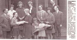 1971 Margaret McConnell infant teacher retires from St Blanes
