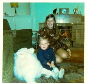 1972-73 New Year Janet and Paul Veverka.