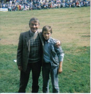 1988 Stewart Hay and Mark McManus at Blantyre Highland Games