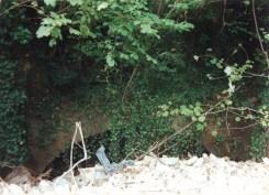 2004 Outside Blantyre Works Mill