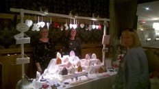 Stall at Parkville Coffee morning 5th Sept (PV)